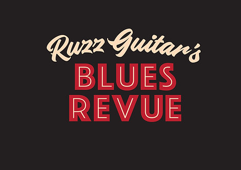 Ruzz Guitar's Blues Revue T-Shirt