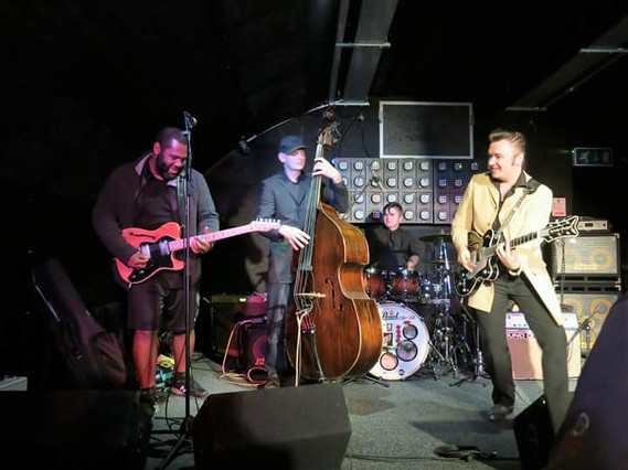 Ruzz Guitar's Blues Revue with Kirk Flecther