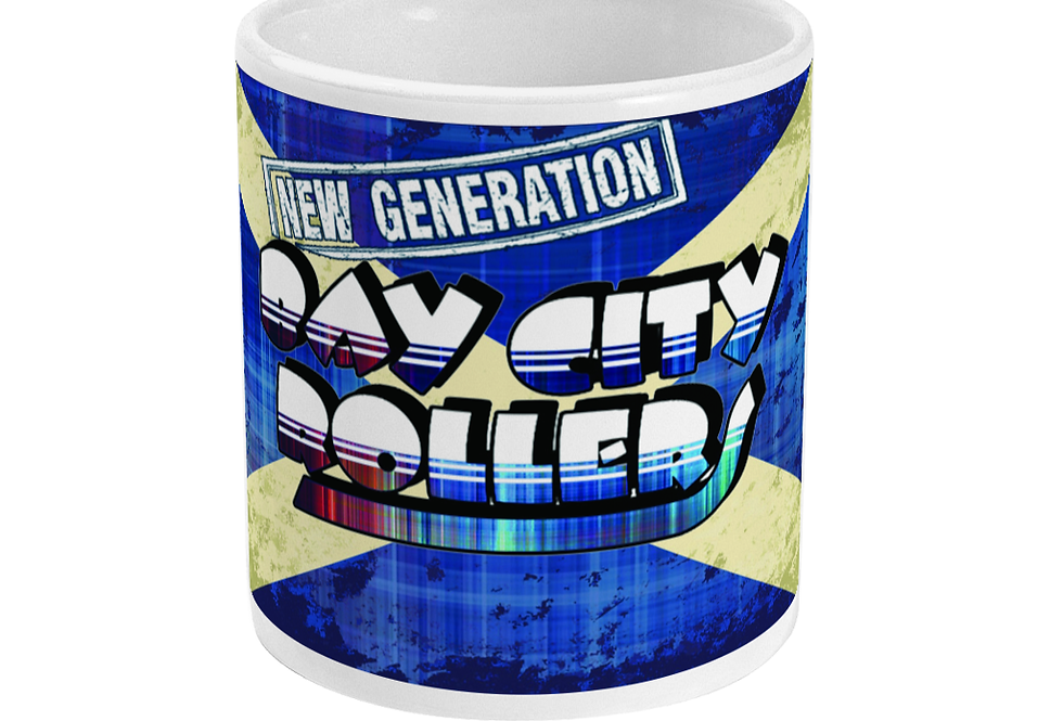 Bay City Roller Saltire Mug