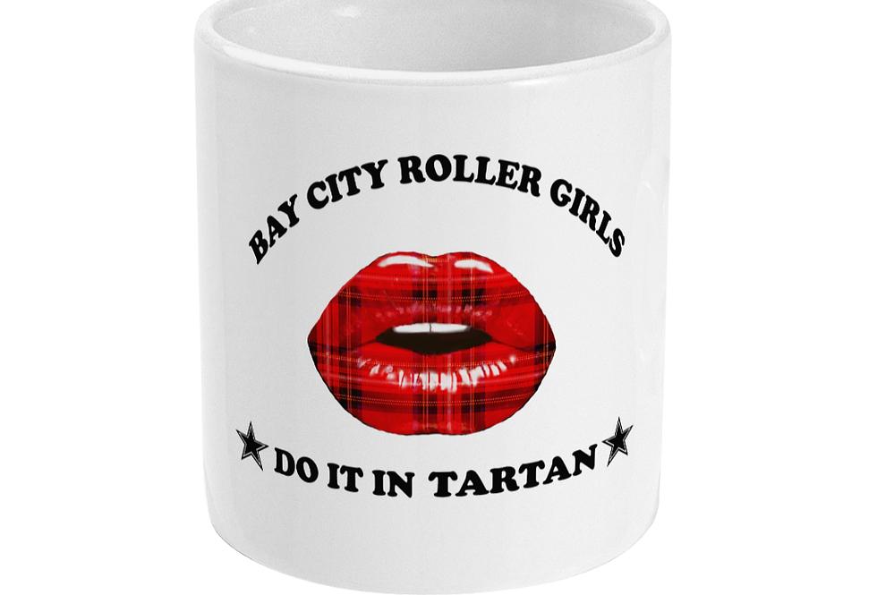 Bay City Roller girls mug
