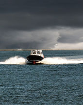 stormy weather boating