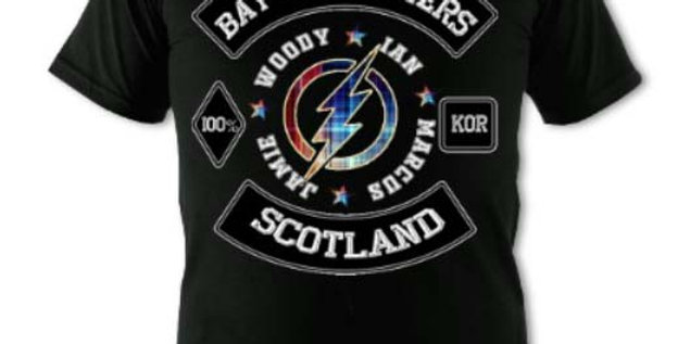 BAY CITY ROLLER TSHIRT Sizes SMALL -5XLARGE