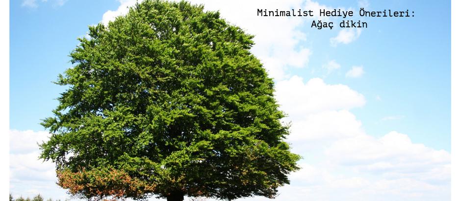 Minimal Hediyeler Serisi : Ağaç Dikin