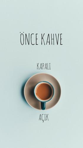 Önce Kahve