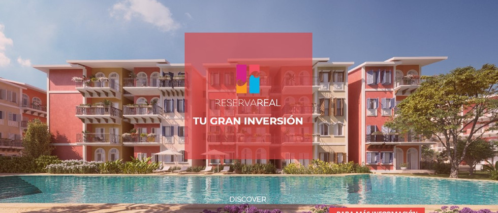 reserva real apartments for sale cocotal