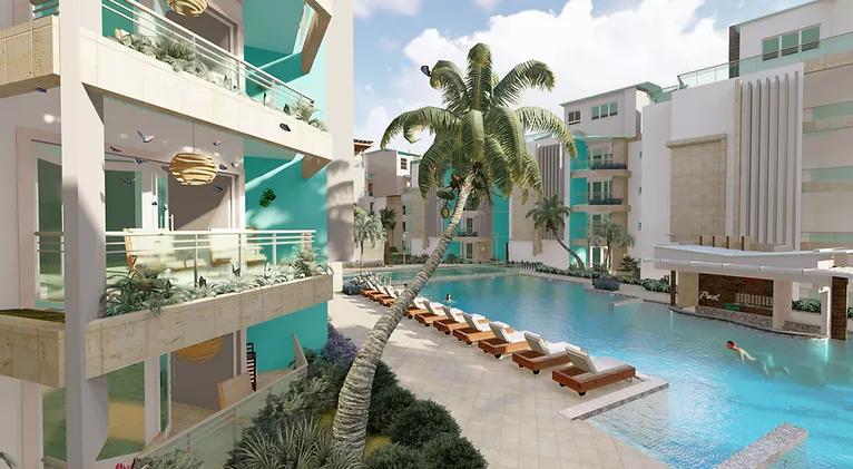 beachfront condos for sale punta cana dominican republic