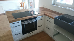 Küche Fachwerkeiche Eiche geölt Einbauküche