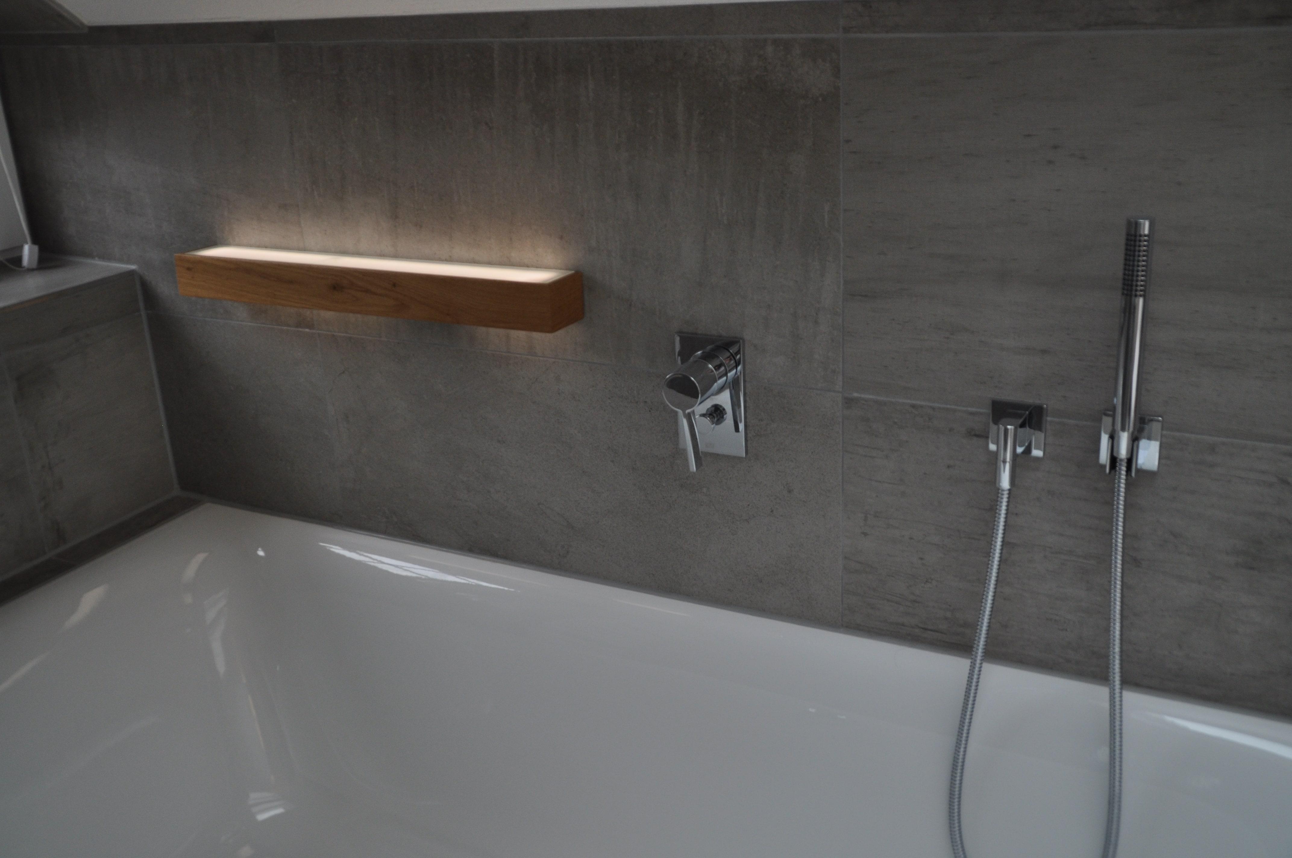 Badewannenbeleuchtung Bad Badezimmer Holz