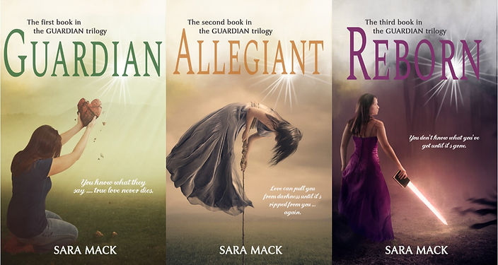 The Guardian Trilogy by Sara Mack new covers
