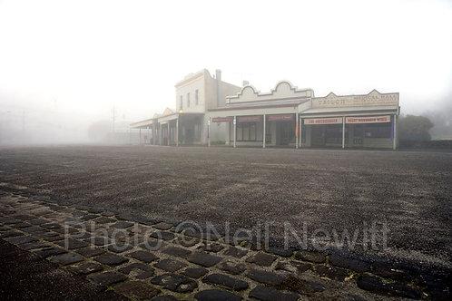 Misty Morning, Clunes