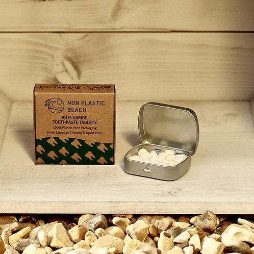 Toothpaste Tabs Storage Tin