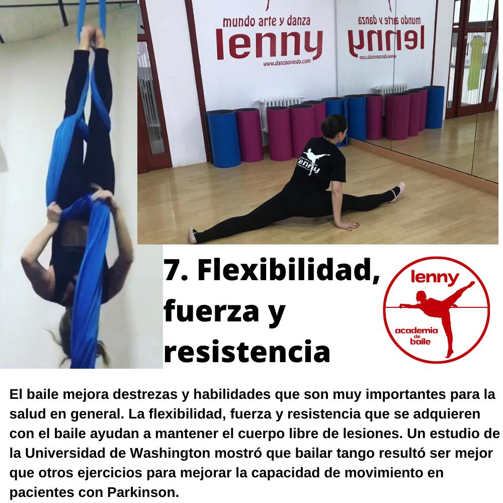 Flexibilidad, fuerza y resistencia