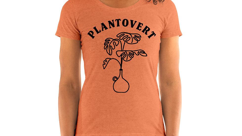 Plantovert - Ladies' short sleeve t-shirt