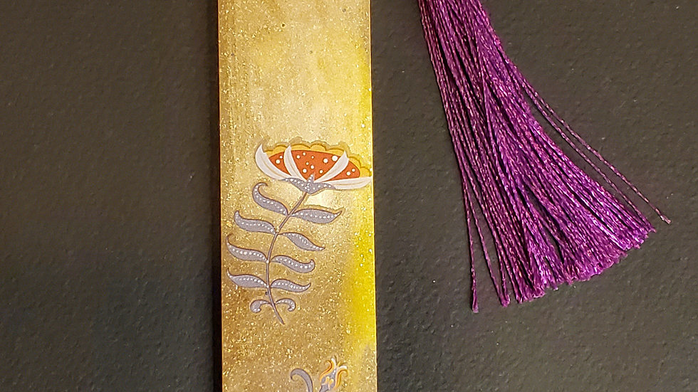 Handmade Whimsy Bookmark