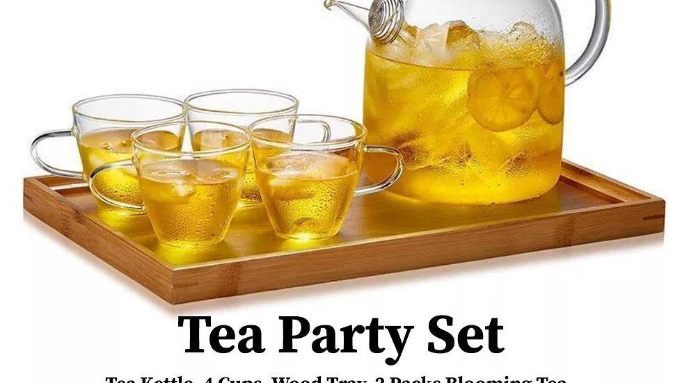 Elegant Tea Party 8 Piece Set