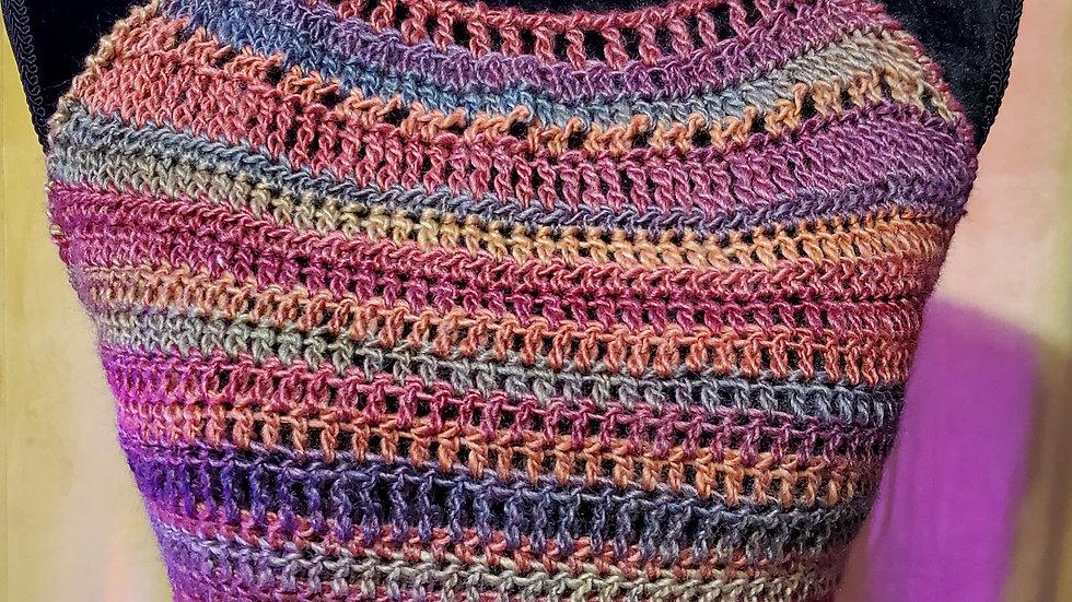 Multicolor Halter Top