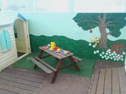 Murals in the garden
