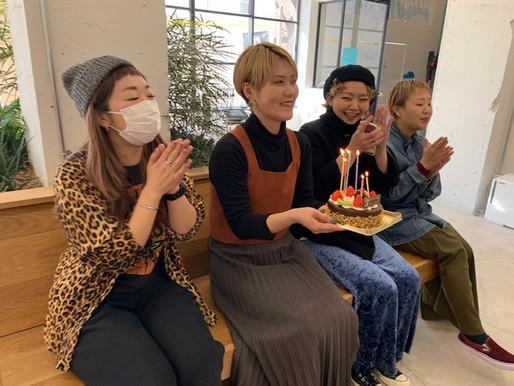 雄一郎さんのお誕生日✩