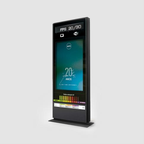 Ozon-in UV monitoring