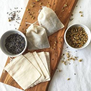 Cotton Reusable Tea Bags