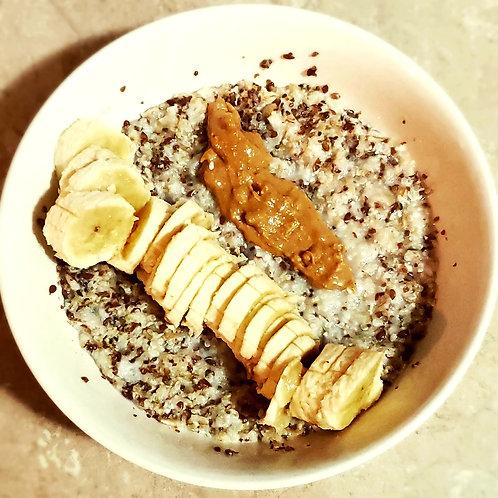 Banana Super Seeds Oat Bowl