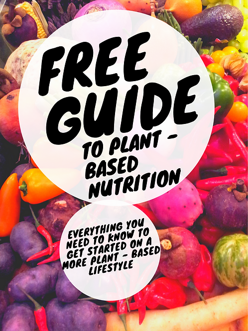 Beginner's Guide to Plant-Based Eating - Free download with code 'plants'