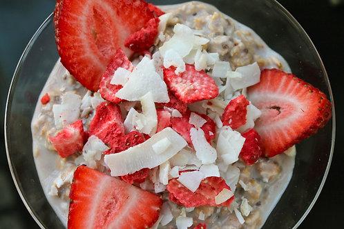 Strawberry Coconut Oat Bowl