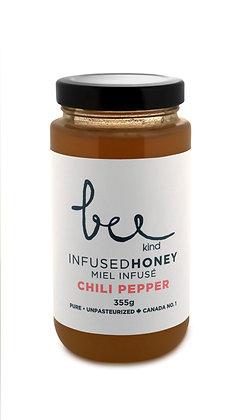 Chili Pepper Infused Honey