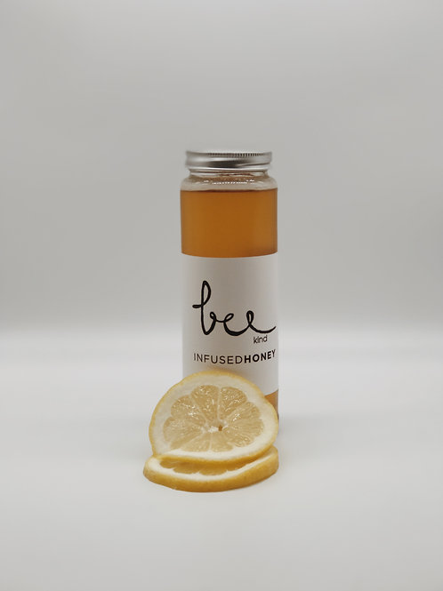 Lemon infused honey