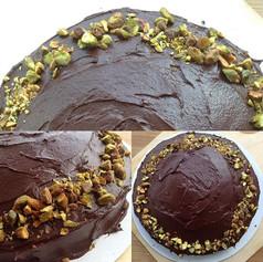 (Vegan) Double Chocolate Cake