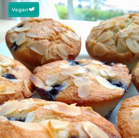 Vegan Lemon & Almond mini cakes