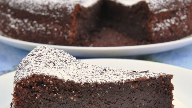 """Caprese"" Flourless Chocolate cake"