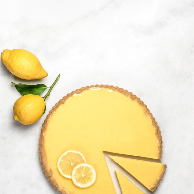 Holland & Barrett - Gluten free Lemon tart