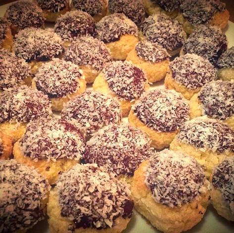 Mini Coconut cookies