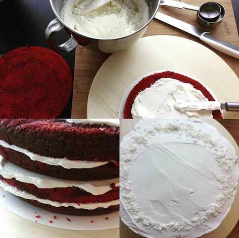 Red Velvet cake step by step