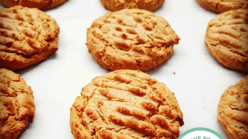 Peanut Butter Cookies 12 pcs