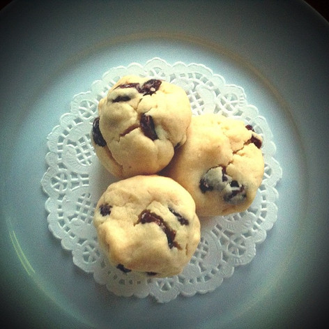 Honey & raisins cookies