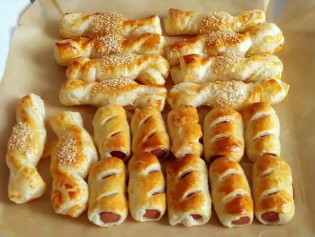 Bladerdeeg Finger Food