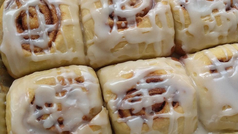 (Vegan) Cinnamon Rolls