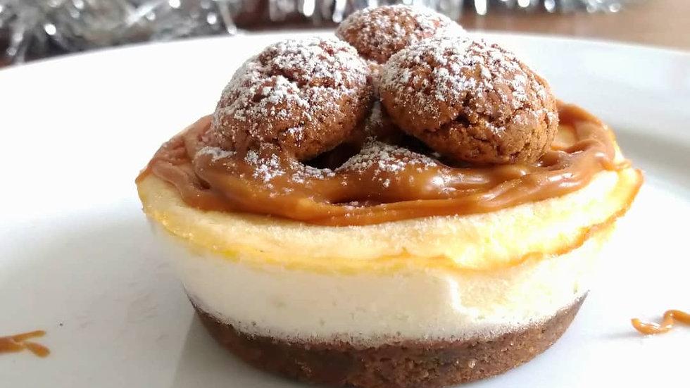 Mini Kruidnoten Cheesecake