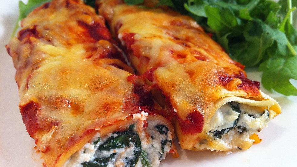 Vegetarisch Cannelloni