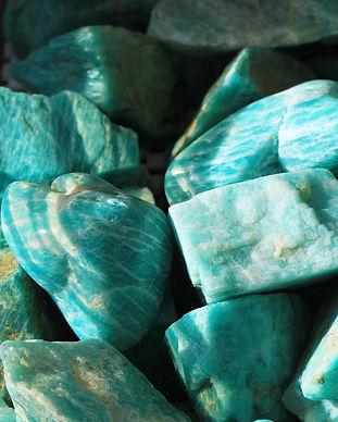 Raw Amazonite Stones