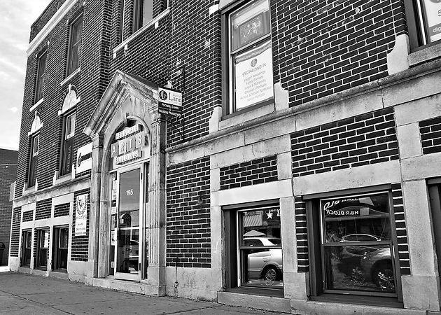 Ferndale Arts Building  b&w.jpg