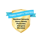 Third Party Supplement Testing for extra safety
