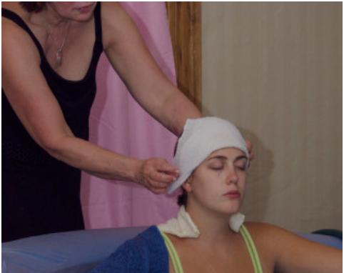 Doula aiding mother, HealFast