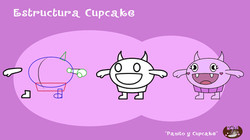 Estructura Cupcake