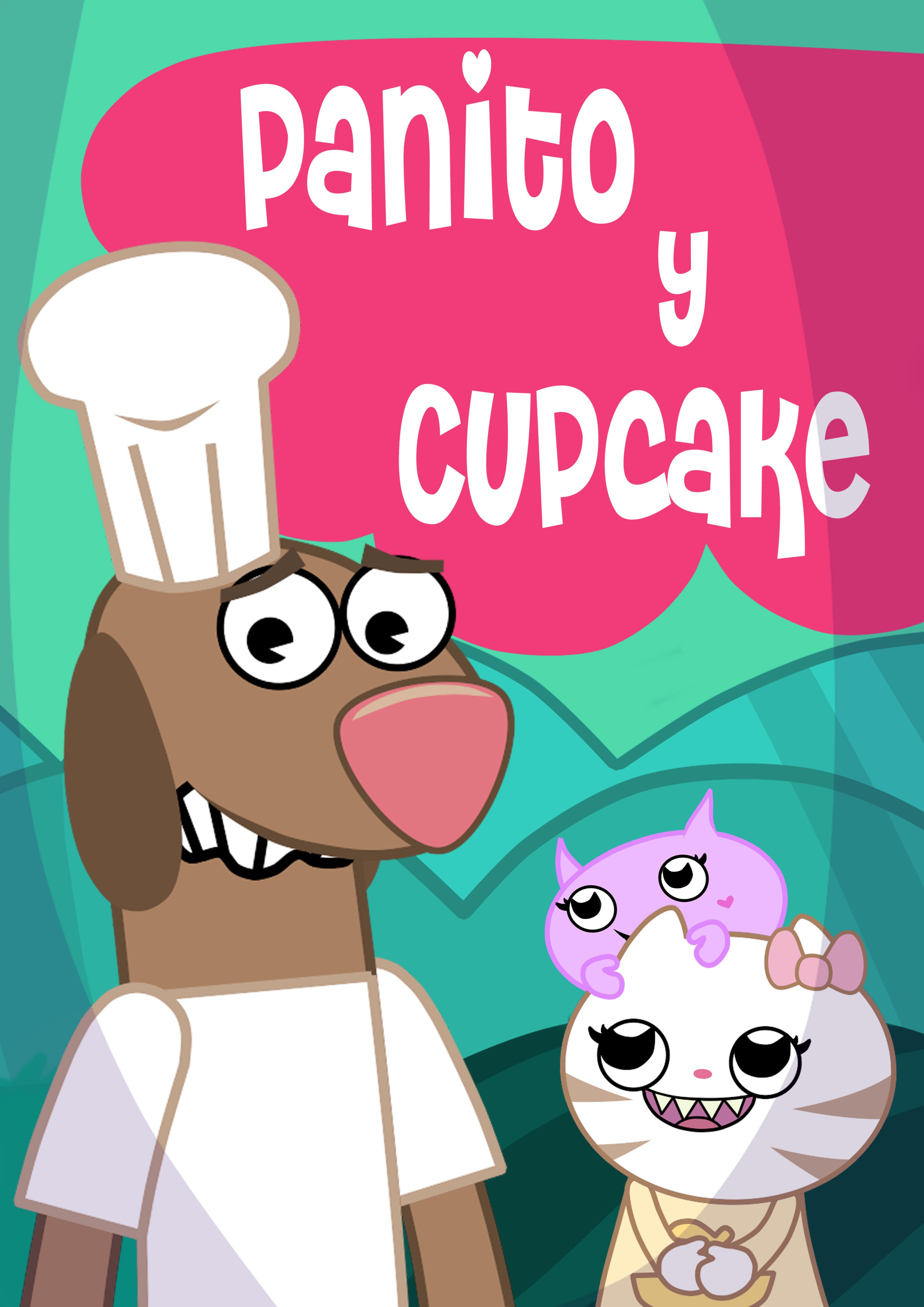 Afiche Panito y Cupcake
