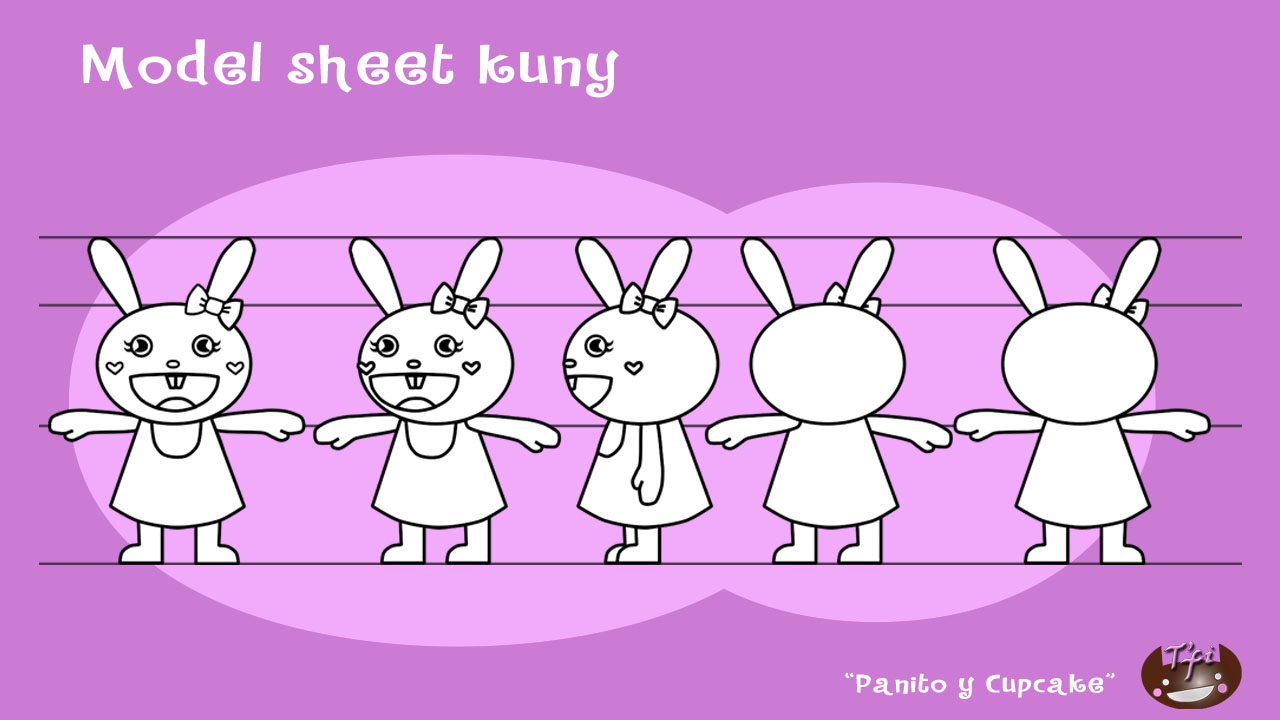 Model sheet kuny