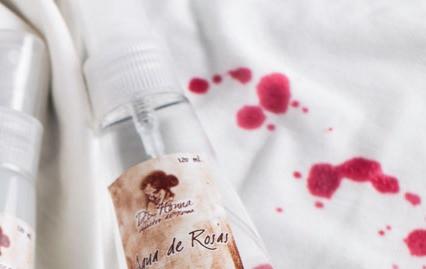 Locion Virginal y Agua de Rosas editado.