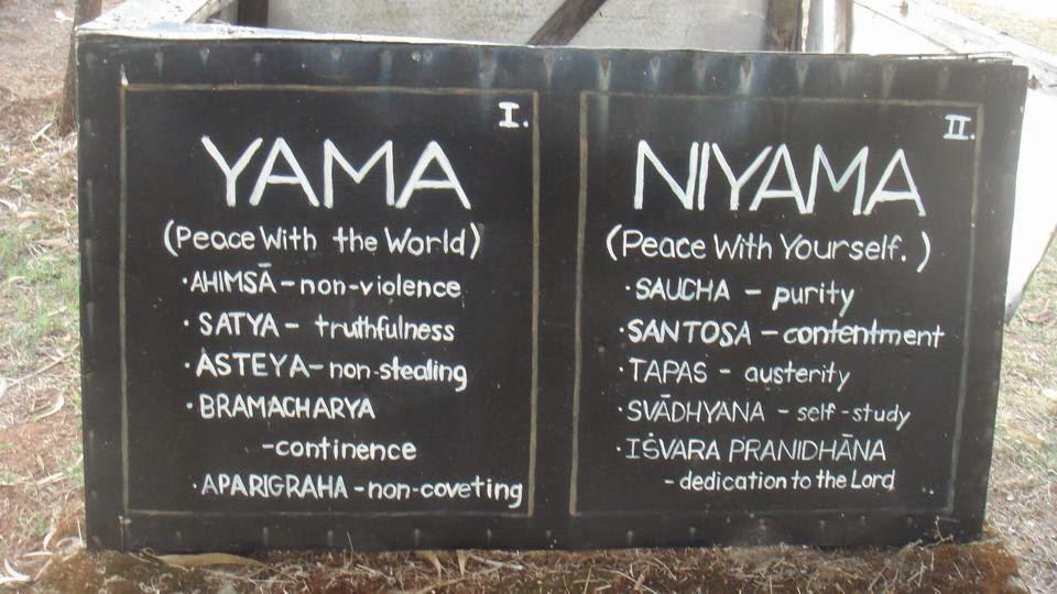 Yamas&Niyamas